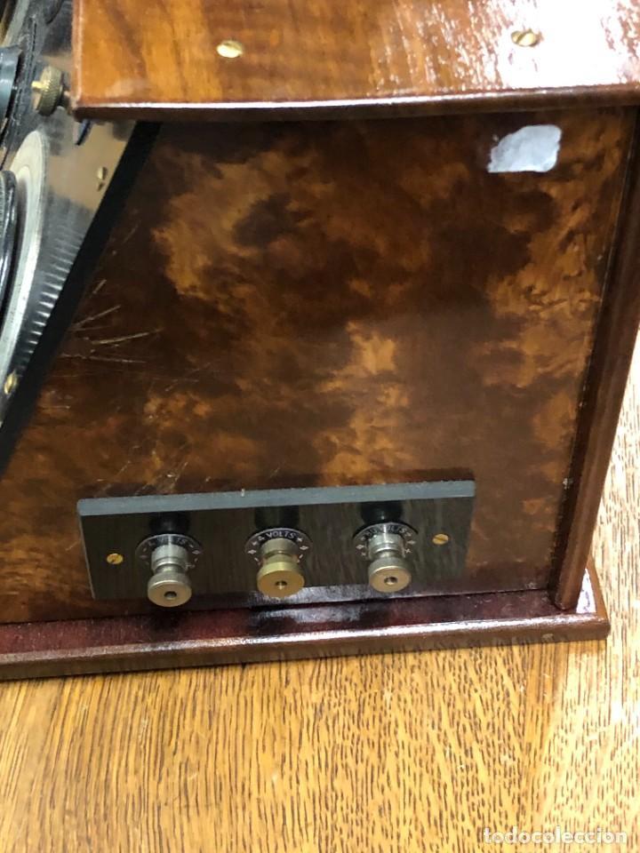 Radios de válvulas: Muy bonita Radio de válvulas vistas años 20 - Foto 7 - 221607550