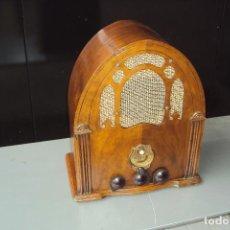 Radios de válvulas: RADIO CAPILLA ANTIGUA. Lote 221874305