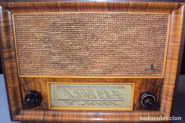 Radios de válvulas: Radio Siemens 20 GW - Foto 4 - 221885353