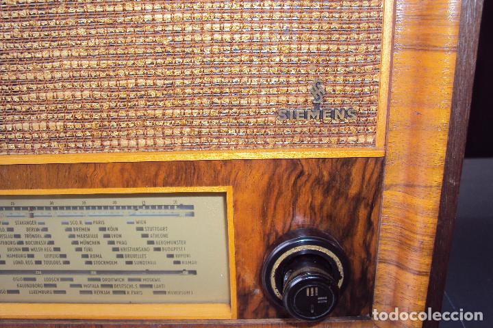 Radios de válvulas: Radio Siemens 20 GW - Foto 5 - 221885353