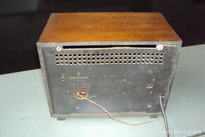 Radios de válvulas: Radio Siemens 20 GW - Foto 6 - 221885353