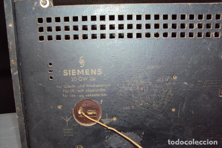 Radios de válvulas: Radio Siemens 20 GW - Foto 7 - 221885353