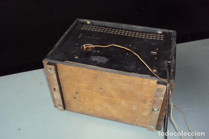 Radios de válvulas: Radio Siemens 20 GW - Foto 8 - 221885353
