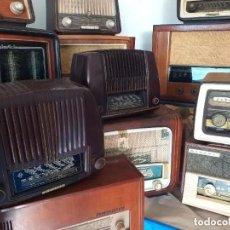 Radios de válvulas: 40 RADIOS CLÁSICAS DIFERENTES. Lote 222019128
