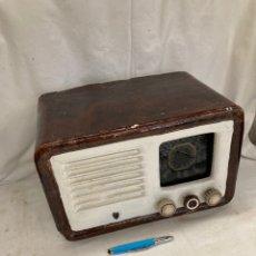 Radios de válvulas: RADIO ANTIGUA MARCA CLARION!. Lote 222077496