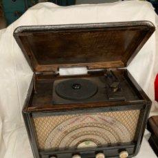 Radios de válvulas: ANTIGUA RADIO TUNGSRAM OND HERTZ!. Lote 222077978