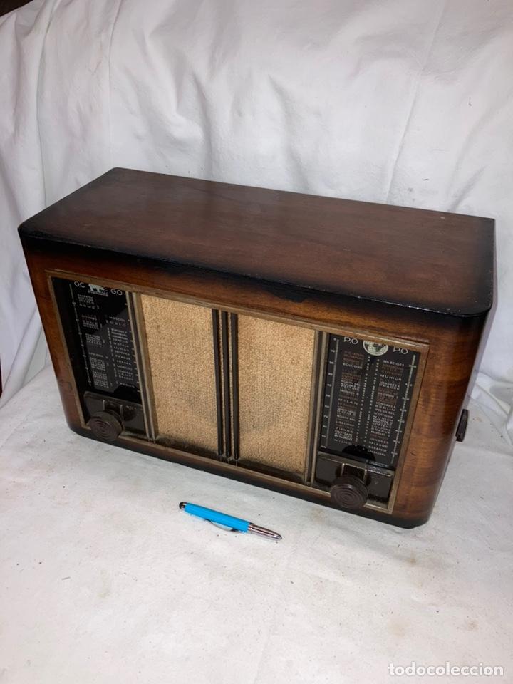 ANTIGUA RADIO BUREL EVERNICE 1948! (Radios, Gramófonos, Grabadoras y Otros - Radios de Válvulas)
