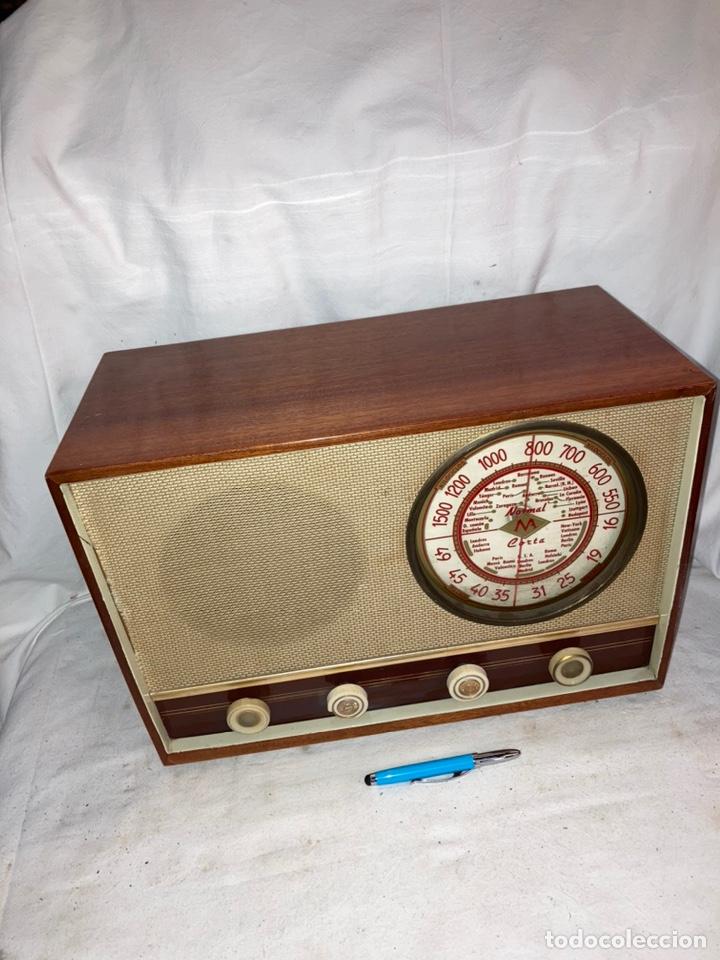 RADIO ANTIGUA MARCA M.TUNGSRAM! (Radios, Gramófonos, Grabadoras y Otros - Radios de Válvulas)