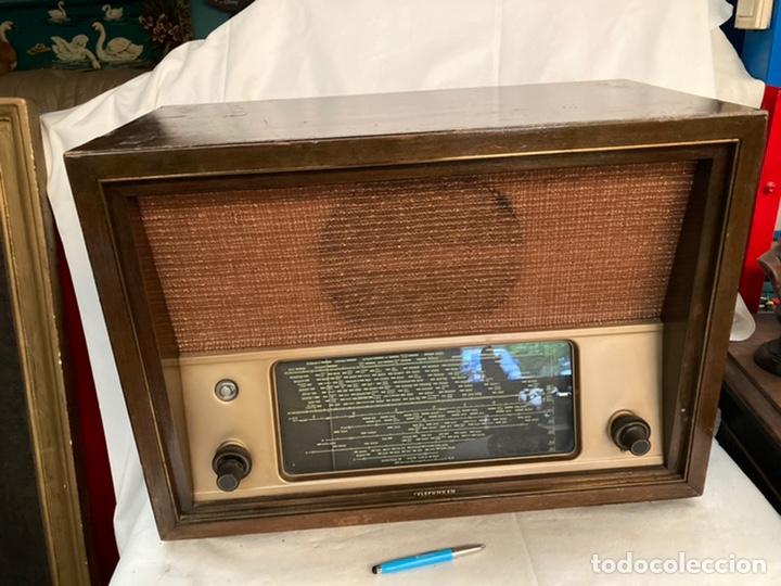 ANTIGUA RADIO TELEFUNKEN! (Radios, Gramófonos, Grabadoras y Otros - Radios de Válvulas)