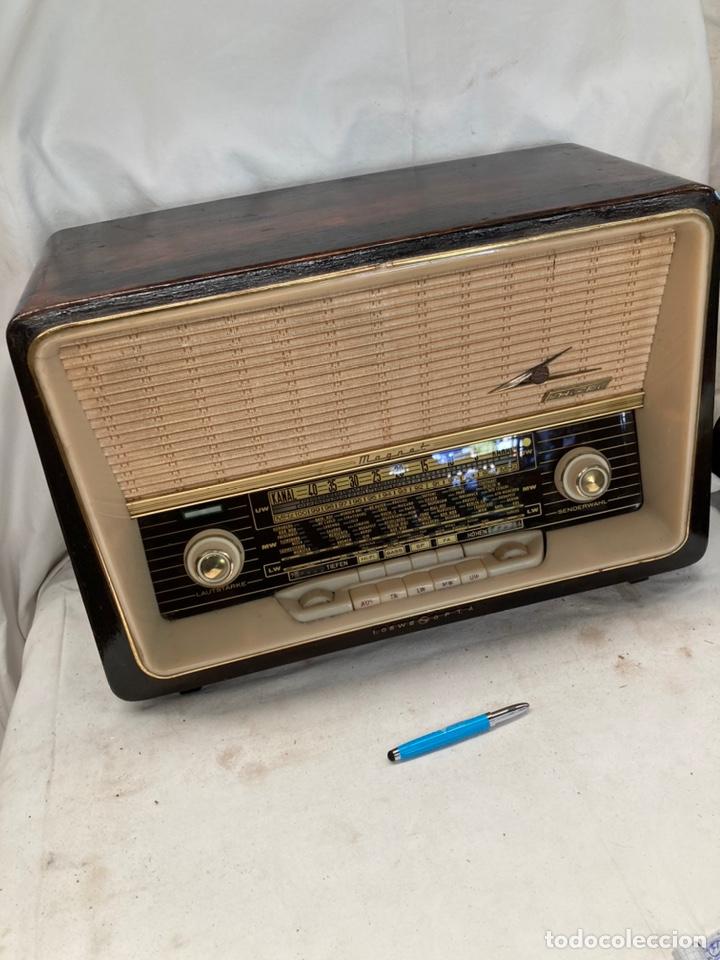 ANTIGUA RADIO LOEWE OPTA MAGNET! (Radios, Gramófonos, Grabadoras y Otros - Radios de Válvulas)