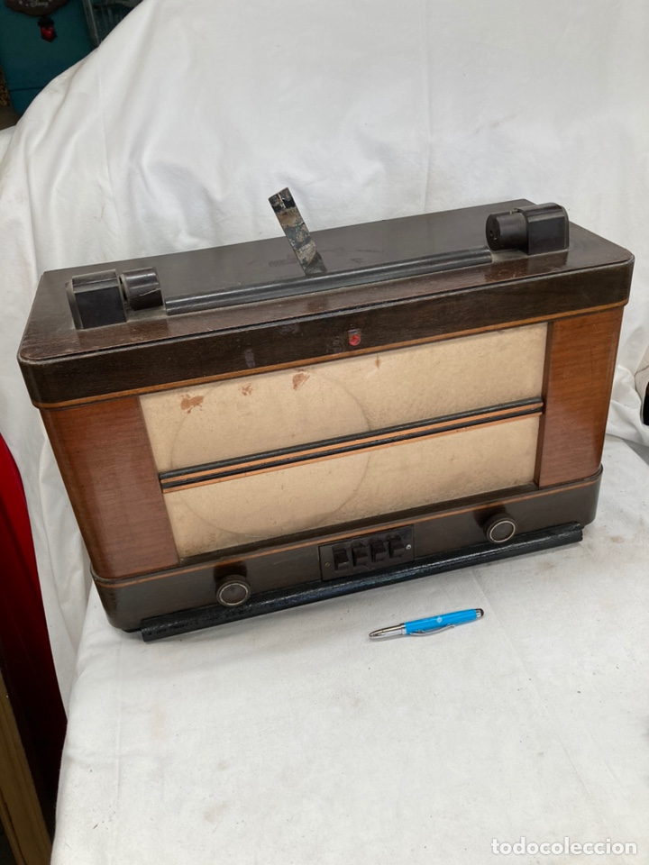 ANTIGUA RADIO PHILIPS! (Radios, Gramófonos, Grabadoras y Otros - Radios de Válvulas)