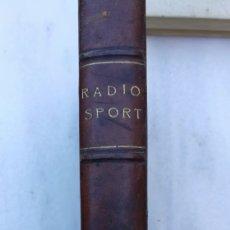 Radios de válvulas: ANTIGUO LIBRO DE RADIOS DE VÁLVULA. Lote 222173287