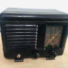 Radios de válvulas: RADIO BAQUELITA MARRON FRANCESA SUPER-AS. Lote 222270563