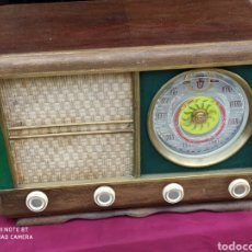 Radios de válvulas: IMPRESIONANTE RADIO. Lote 222439765