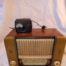 Radios à lampes: RADIO ANTIGUA DE VALVULAS MARCA ZYNKER AÑOS 50. Lote 222536055