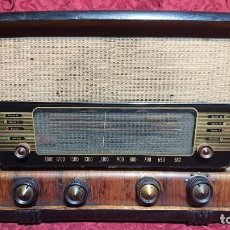 Radios de válvulas: RADIO DE VALVULAS IBERIA MODELO D-7551 DE 1950. Lote 222627602