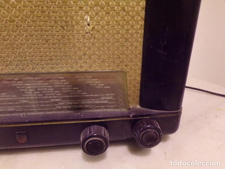 Radios de válvulas: radio DE VALVULAS philips tipo BE-412-A - Foto 4 - 222698367