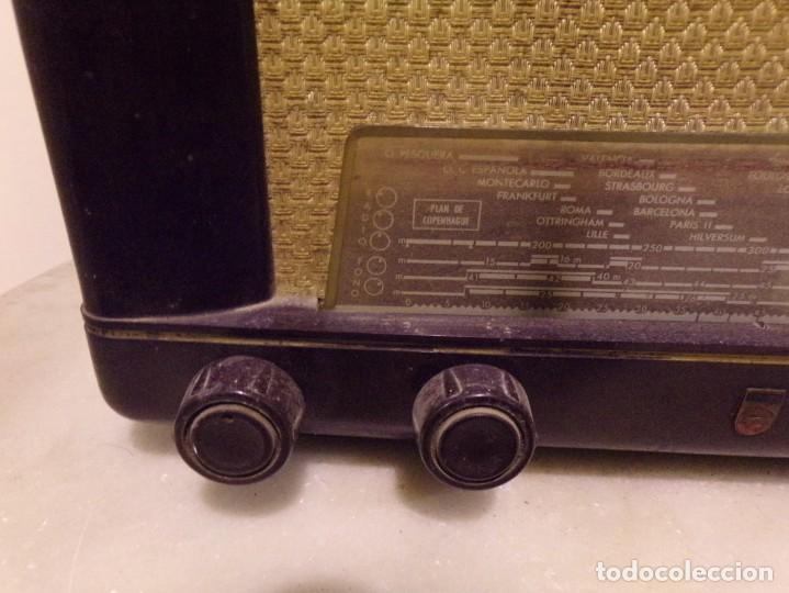 Radios de válvulas: radio DE VALVULAS philips tipo BE-412-A - Foto 5 - 222698367
