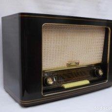 Radios de válvulas: ANTIGUA RADIO DE VÁLVULAS SABA, MAGNIFICO ESTADO, FUNCIONANDO, MUY BUEN SONIDO (VER VÍDEO).. Lote 223063033