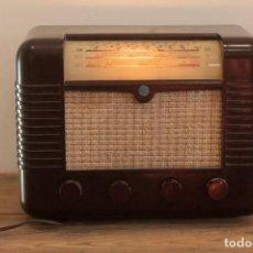 Radios de válvulas: RADIO A VALVULAS MARCONI P51BA. MUY BUEN ESTADO. FUNCIONANDO.. Lote 276458663