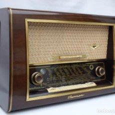 Radios de válvulas: ANTIGUA RADIO DE VÁLVULAS MARCA NORDMENDE, MAGNIFICO ESTADO, FUNCIONA CON GRAN SONIDO (VER VÍDEO). Lote 224442157