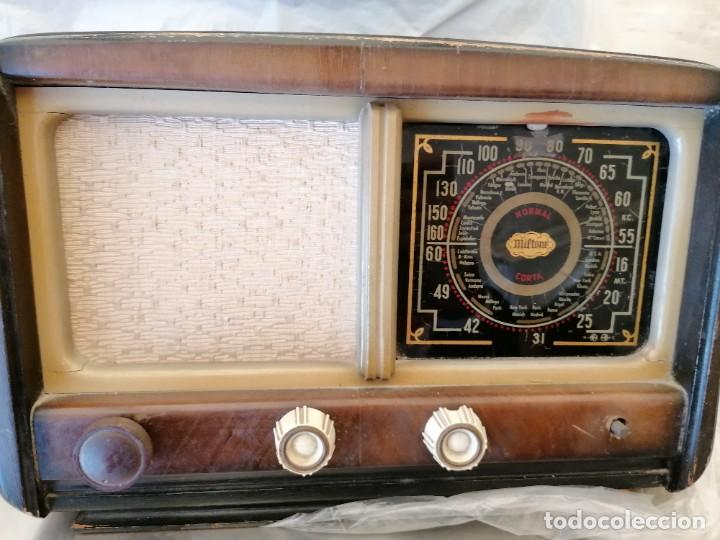 Radios de válvulas: radio antigua no provada marca miltone - Foto 2 - 224951216