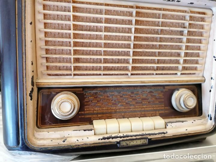 Radios de válvulas: radio antigua no provada marca invicta - Foto 3 - 224951530