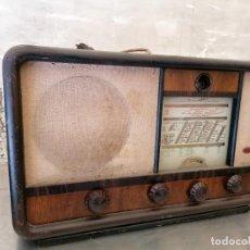 Radios de válvulas: RADIO ANTIGUA NO PROVADA MARCA SBR. Lote 224952165