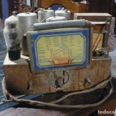 Radios de válvulas: APARATO SIN CAJA DE RADIO DE VÁLVULAS TAL COMO SE APRECIA A LAS FOTOS, PIEZAS REPUESTO O RESTAURAR. Lote 225714785