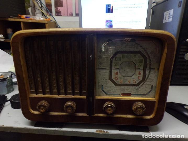 BONITA RADIO DE VALVULAS CREO MARCA MELODIAL MODELO 30-T (Radios, Gramófonos, Grabadoras y Otros - Radios de Válvulas)