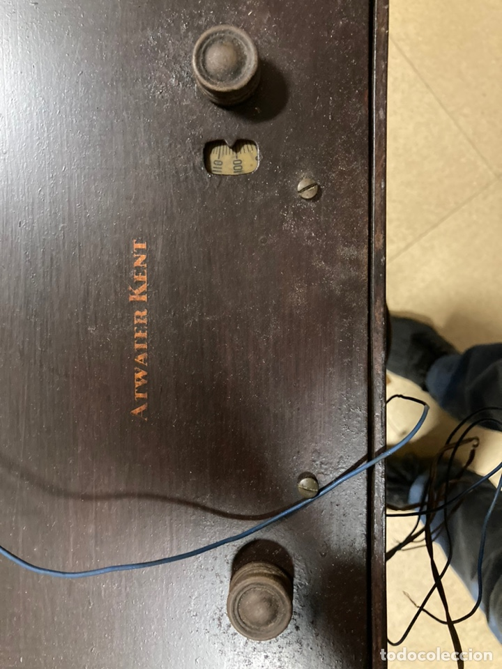 Radios de válvulas: Radio de válvulas Atwater Kent - Foto 3 - 226124390
