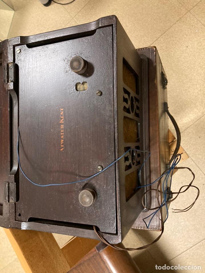 Radios de válvulas: Radio de válvulas Atwater Kent - Foto 4 - 226124390