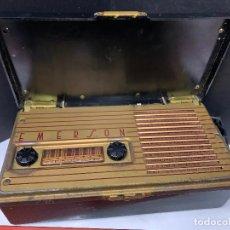Radios de válvulas: ANTIGUA RADIO DE VALVULAS EMERSON MODELO 558 DEL AÑO 1947. PARA COLECCIONISTAS...UNA PRECIOSIDAD. Lote 227172945