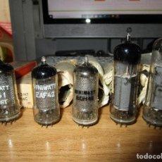 Radios de válvulas: JUEGO DE VALVULAS AZ41 EL41 ECH42 EAF42 EBC41 EF41 NUEVAS 6 VALVULAS. Lote 228563500