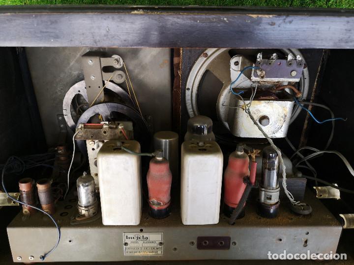 Radios de válvulas: RADIO INVICTA 330. MUEBLE MADERA. PRECIOSA. (VER FOTOS) - Foto 17 - 149542906