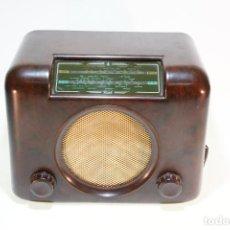 Radios de válvulas: RADIO VINTAGE A VÁLVULAS MARCA BUSH RADIO. TYPE D.A.C 90 A. SERIAL Nº 73/156496. FUNCIONANDO.. Lote 229400600