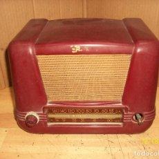 Radios de válvulas: ANTIGUA RADIO DE BAQUELITA-A REVISAR. Lote 230771400