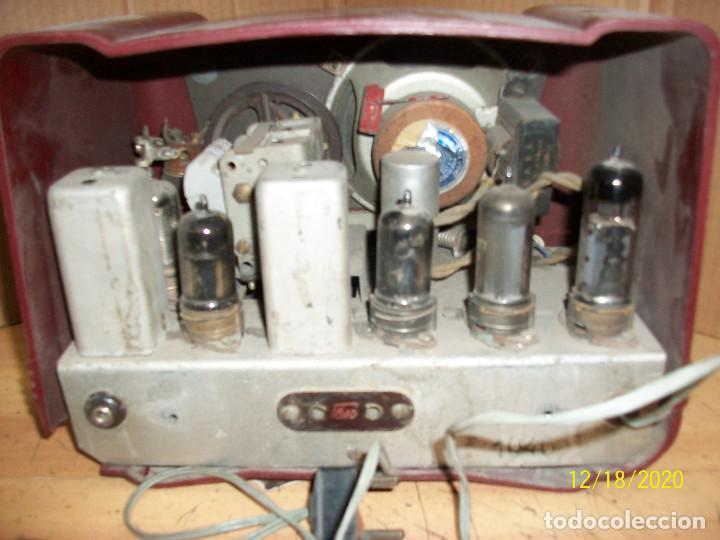 Radios de válvulas: ANTIGUA RADIO DE BAQUELITA-A REVISAR - Foto 6 - 230771400