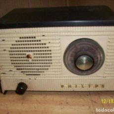 Radios de válvulas: ANTIGUA RADIO PHILIPS-MODELO B 1 E 82U- A REVISAR. Lote 230772220