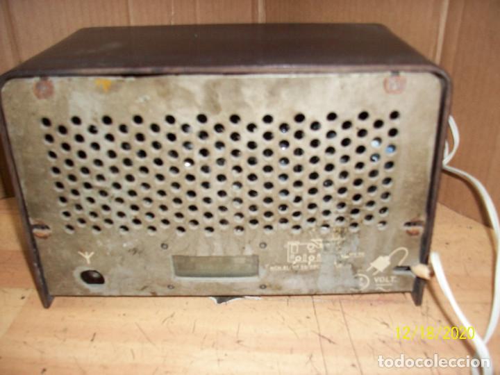 Radios de válvulas: ANTIGUA RADIO PHILIPS-MODELO B 1 E 82U- A REVISAR - Foto 5 - 230772220
