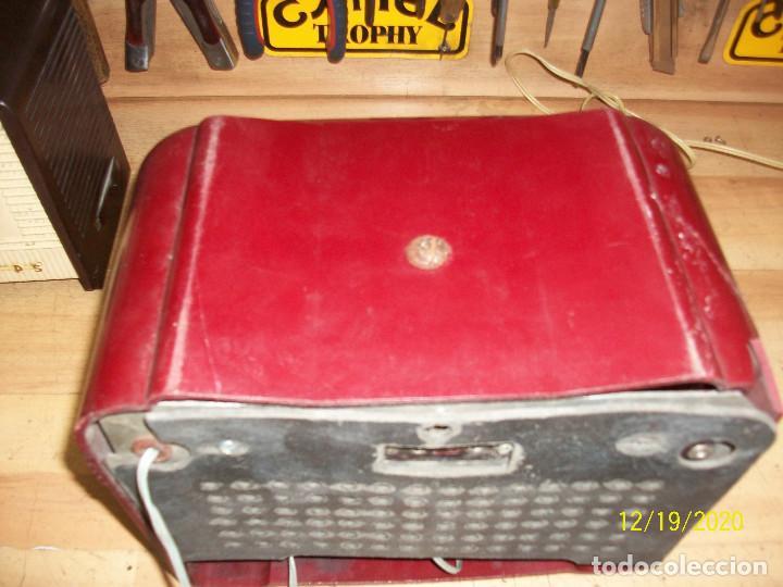 Radios de válvulas: ANTIGUA RADIO DE BAQUELITA-A REVISAR - Foto 8 - 230771400