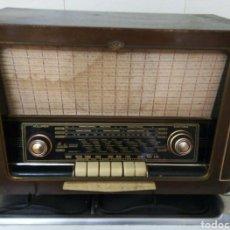 Radios de válvulas: RADIO MARCA IBERIA FUNCIONANDO. Lote 231084020