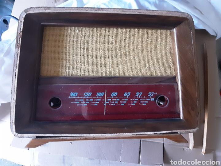 RADIO ANTIGUA TAMPA INTER AÑOS 50 (Radios, Gramófonos, Grabadoras y Otros - Radios de Válvulas)