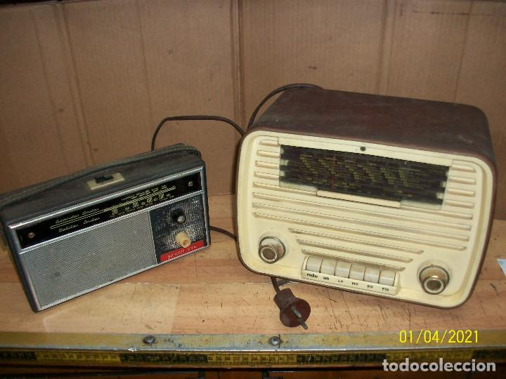 LOTE DE RADIOS- LUXORITA Y GENERAL RADIO- A REVISAR (Radios, Gramófonos, Grabadoras y Otros - Radios de Válvulas)