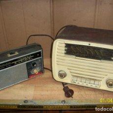 Radios de válvulas: LOTE DE RADIOS- LUXORITA Y GENERAL RADIO- A REVISAR. Lote 233150230