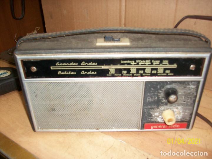 Radios de válvulas: LOTE DE RADIOS- LUXORITA Y GENERAL RADIO- A REVISAR - Foto 2 - 233150230