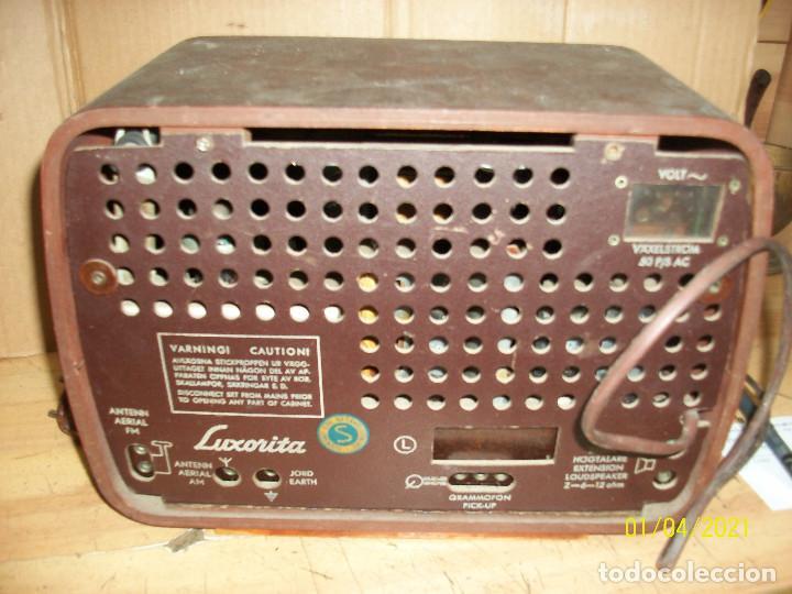 Radios de válvulas: LOTE DE RADIOS- LUXORITA Y GENERAL RADIO- A REVISAR - Foto 8 - 233150230