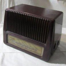 Radios de válvulas: RADIO INVICTA DE VÁLVULAS, EN BAQUELITA. Lote 233288735