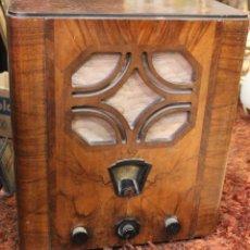 Radios à lampes: RADIO DE VALVULAS PHILIPS. GRANDE. MADERA. Lote 234342390
