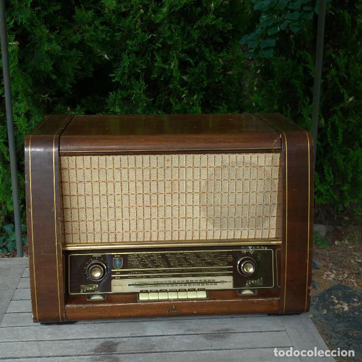 RADIO ANTIGUA SIEMENS PHONOSUPER K 53 (Radios, Gramófonos, Grabadoras y Otros - Radios de Válvulas)